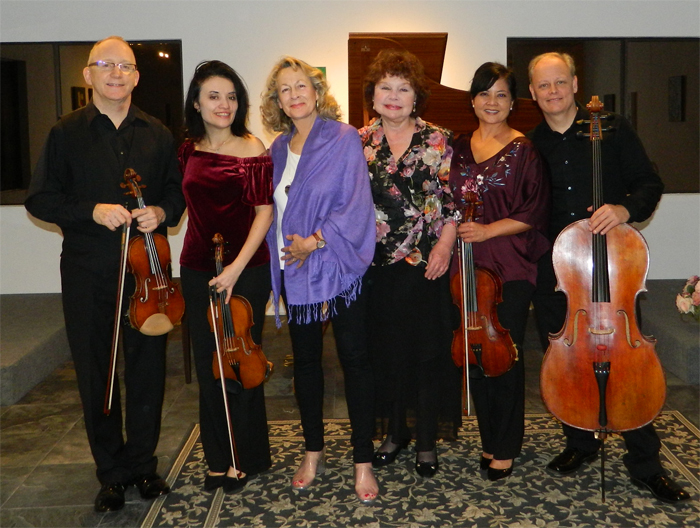 Arianna String Quartet & Michele Levin, Pianist with Heidi Lehwalder, Artistic Director
